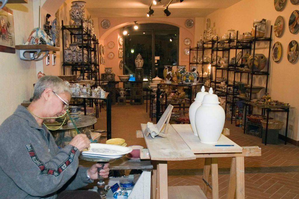 laboratorio ceramica albissola