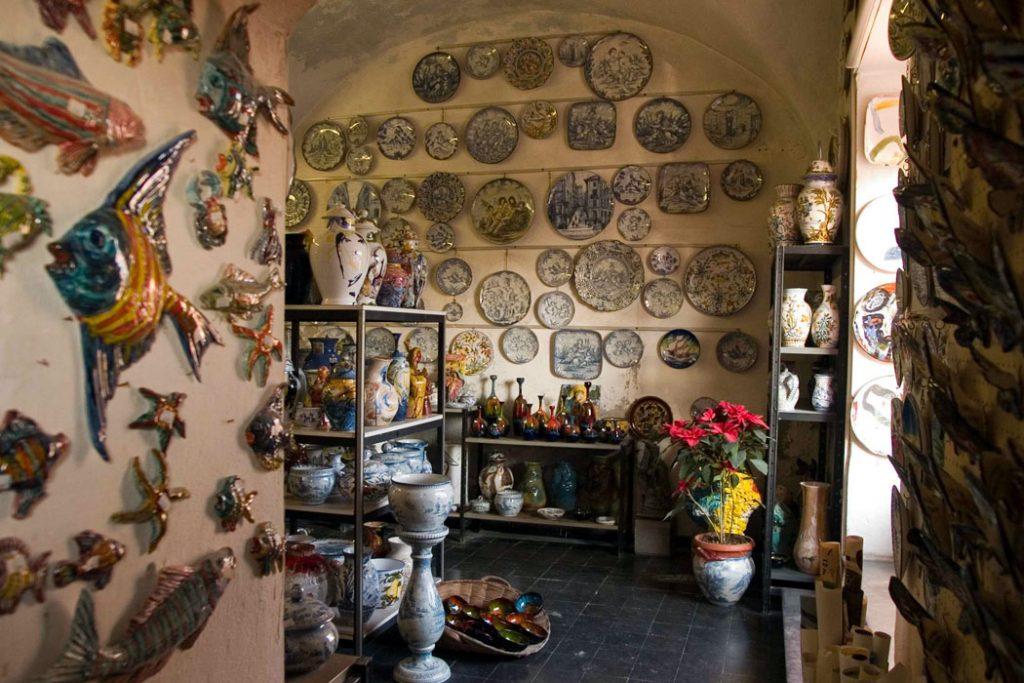 negozio ceramiche albisole