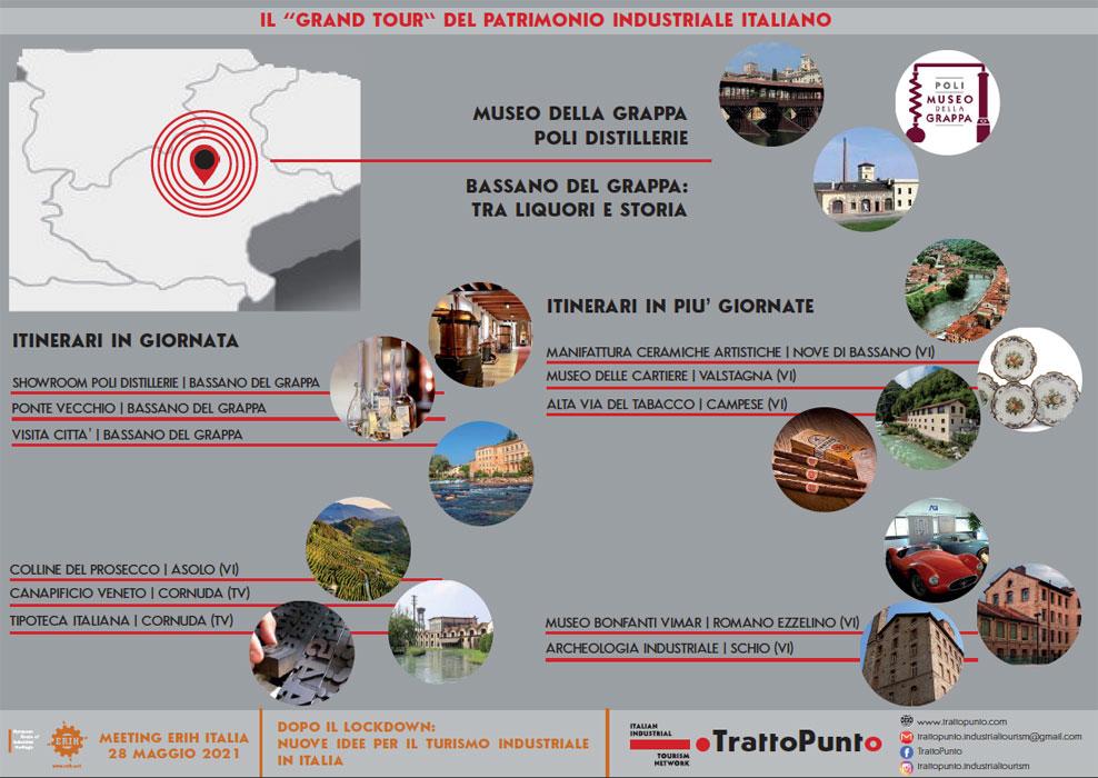 Il Grand Tour del patrimonio industriale italiano